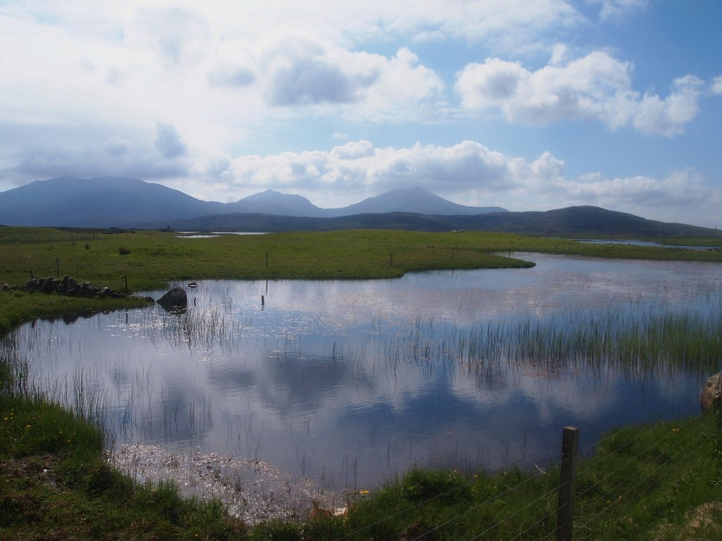 The three hills of South Uist